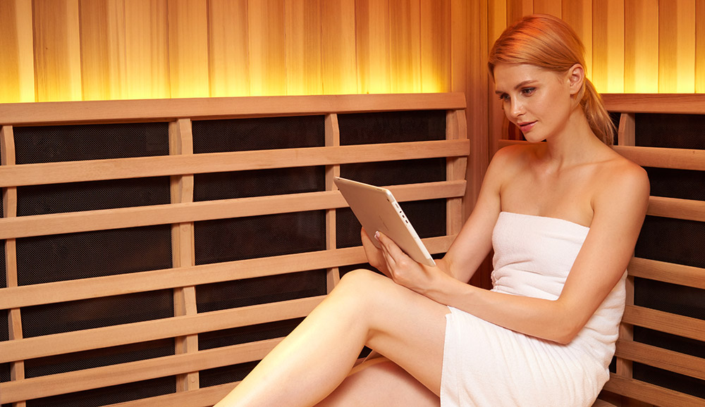 Jacuzzi Infrared Sauna lifestyle in Ontario