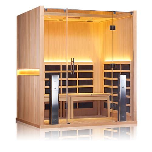 Jacuzzi Sanctuary Retreat infrared sauna in Ontario