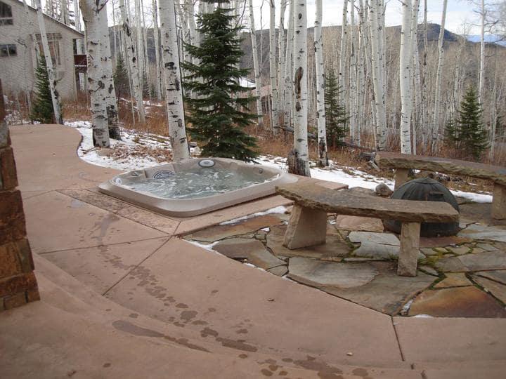 hot tub winter preparation in Canada