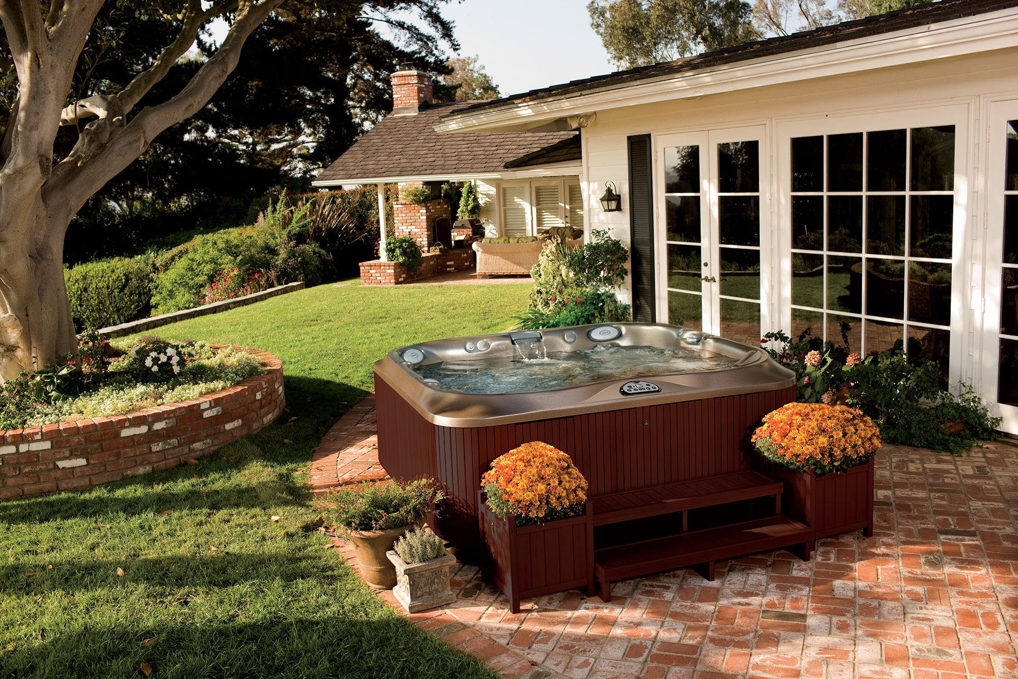 J-300 Collection hot tub Installation Ontario