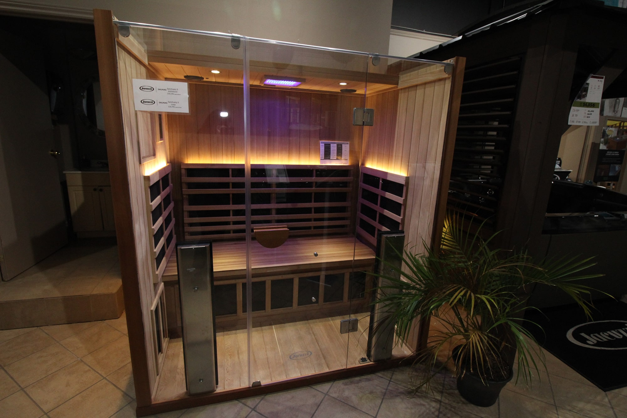 Jacuzzi Kitchener Sauna
