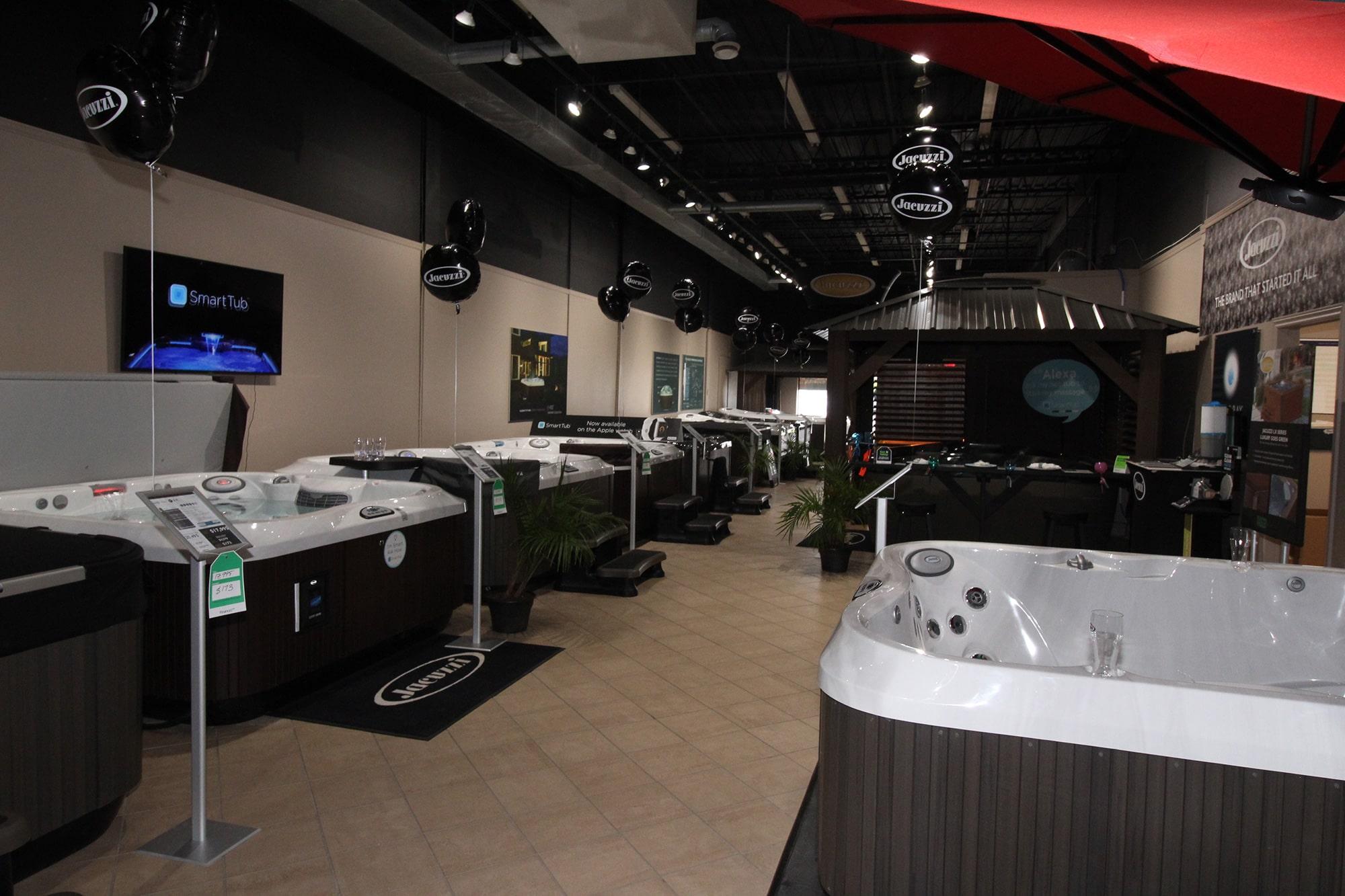 Jacuzzi Kitchener Hot Tub Showroom