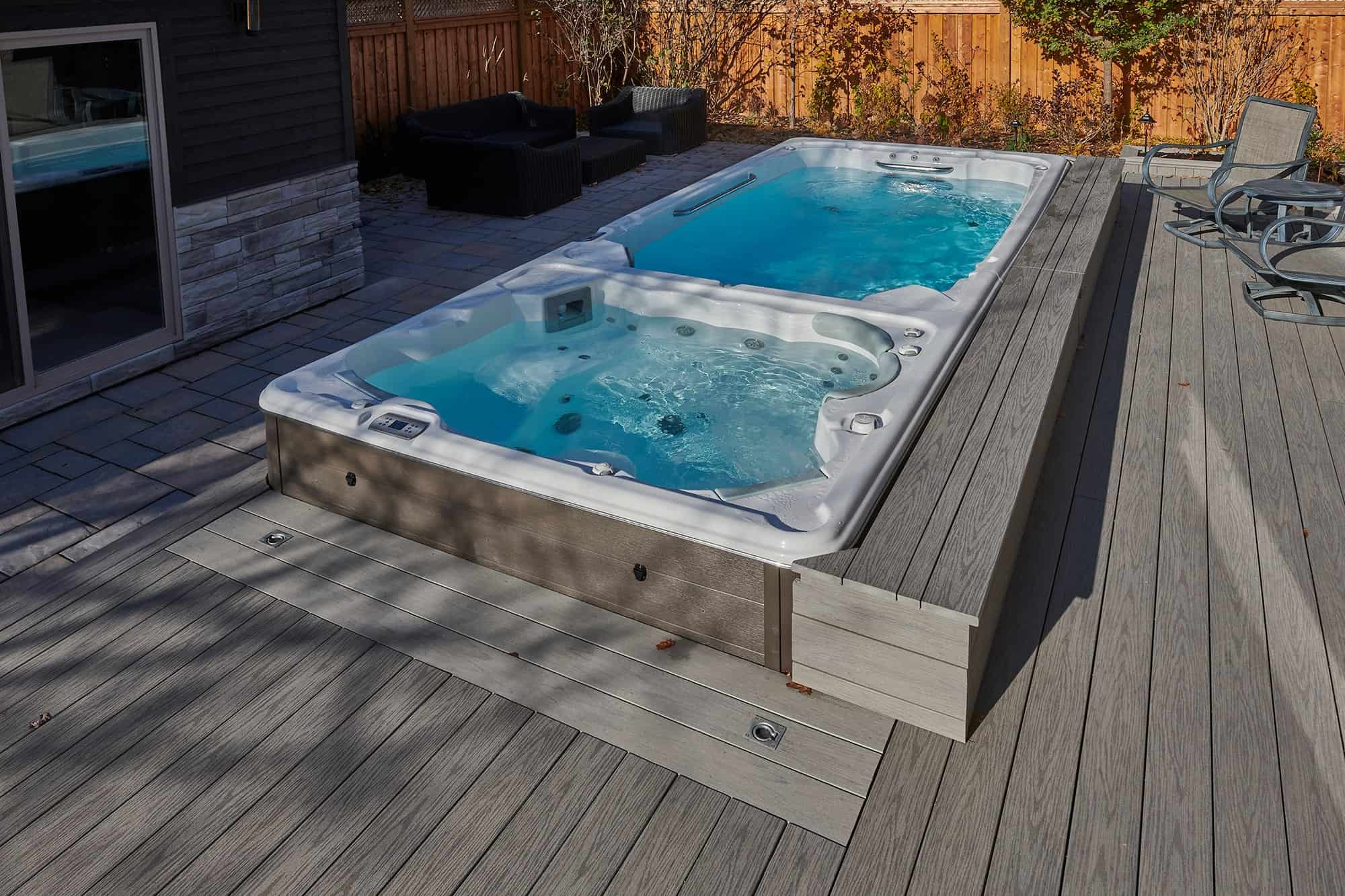 Swimlife Swim Spa Install in Ontario