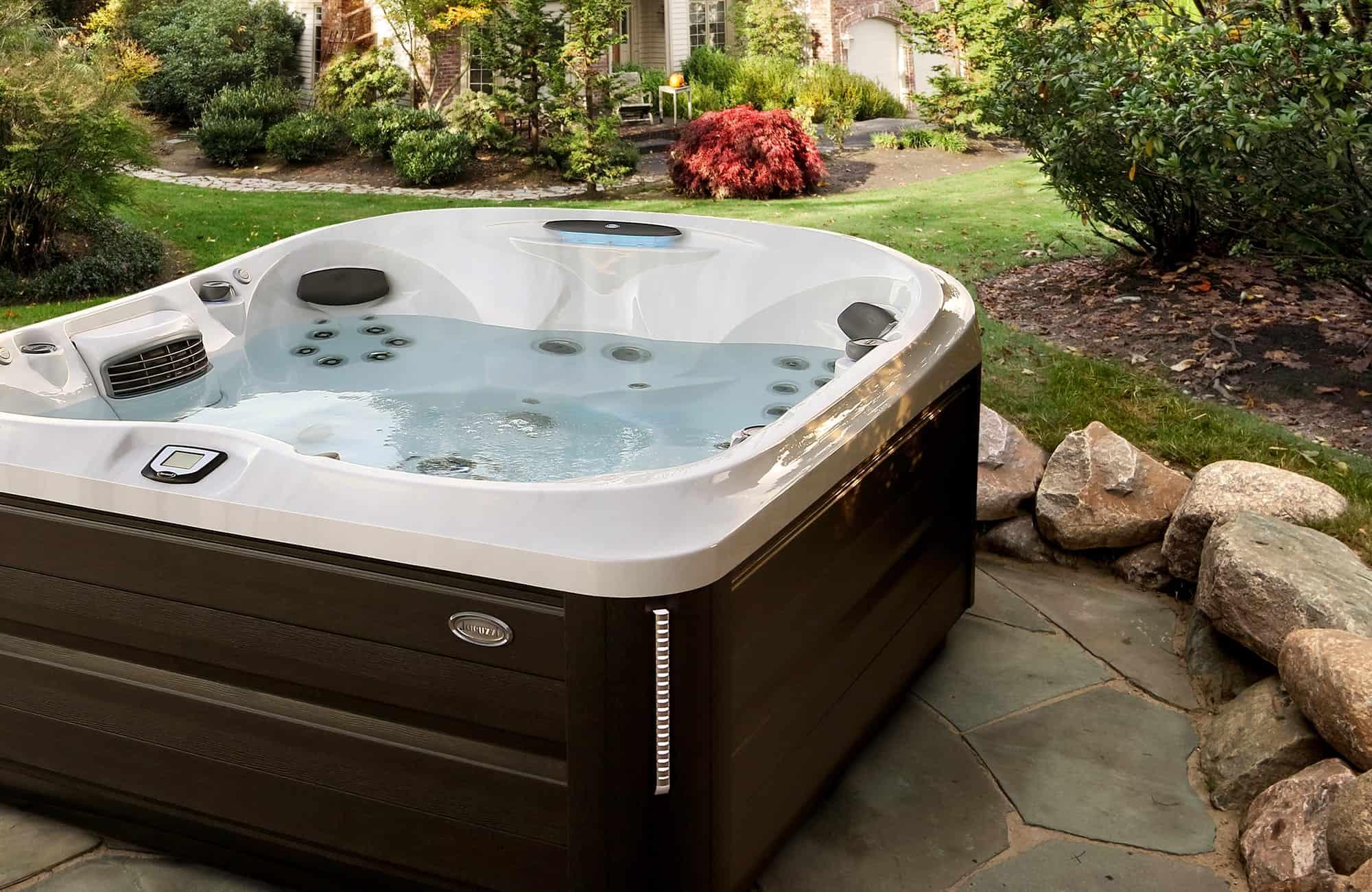 J-485 Hot Tub Installation in Ontario