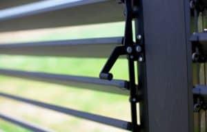 gazebo Adjustable Louver Privacy Panels